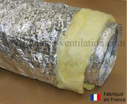 Gaine aluminium isolation thermique 25mm (Thermaflex)