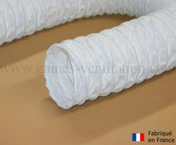 Gaine ventilation semi lourde blanche (Airflex N) Ø 102 mm - L : 6 m