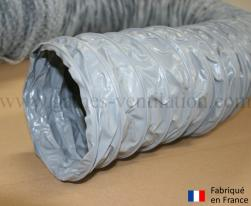 Gaine ventilation semi lourde grise (Airflex N) Ø 127 mm - L : 6 m