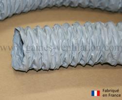 Gaine ventilation semi lourde grise (Airflex N) Ø 76 mm - L : 6 m