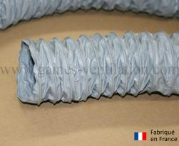 Gaine ventilation semi lourde grise (Airflex N) Ø 51 mm - L : 6 m