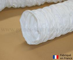 Gaine ventilation semi lourde blanche (Airflex N) Ø 152 mm - L : 6 m