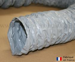 Gaine ventilation semi lourde grise (Airflex N) Ø 82 mm - L : 6 m