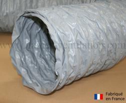Gaine ventilation semi lourde grise (Airflex N) Ø 254 mm - L : 6 m