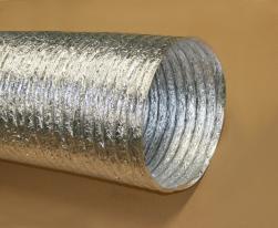 Gaine ventilation aluminium (Thermaflex) Ø 356 mm - L : 10 m