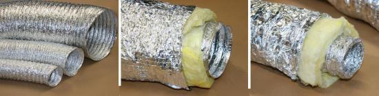 Gaine souple aluminium