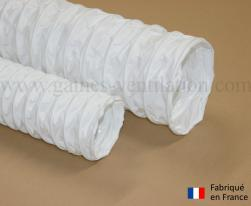 Gaine ventilation semi lourde blanche (Airflex N) Ø 127 mm - L : 6 m