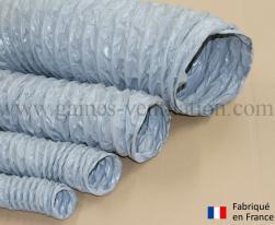 Gaine ventilation semi lourde grise (Airflex N) Ø 356 mm - L : 6 m