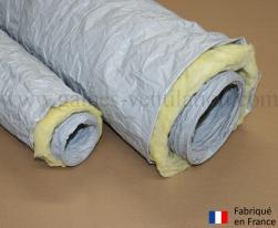 Gaine ventilation isolée épaisseur 25 mm (Airflex PK) Ø 80 mm - L : 6 m
