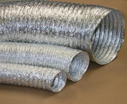 Gaine ventilation aluminium (Thermaflex) Ø 125 mm - L : 10 m