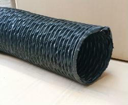 Miniflex noir Ø 203 mm - L : 6 m