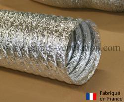 Gaine ventilation aluminium (Thermaflex) Ø 160 mm - L : 10 m